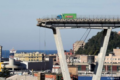 Италия: новый мост в Генуе