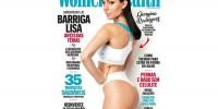 Португалия: девушка Роналду попала на обложку модного журнала