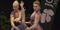 Кубанские акробатки завоевали «золото» в Португалии
