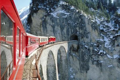 Ледниковый экспресс Glacier Expres представил новые вагоны