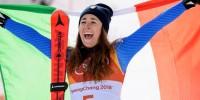 Итальянка Годжа стала олимпийской чемпионкой в скоростном спуске