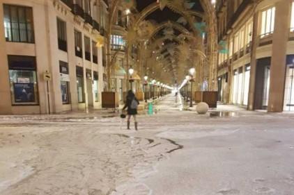 Мощный град обрушился на юг Испании