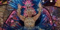 Испания: в Лас-Пальмасе выбрали гранд-даму карнавала