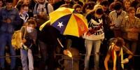 Испания: в Барселоне вновь устроили акцию протеста