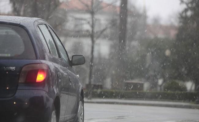 На севере Португалии выпал снег