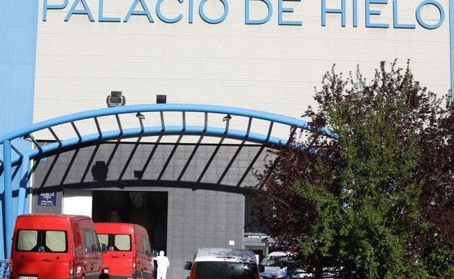 Испания: Ледовый дворец в Мадриде превратят в морг