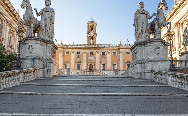 Италия: Gucci реставрирует склон Капитолийского холма