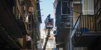 Италия: пожар в Неаполе