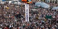 Многотысячные акции протеста прошли в Испании