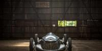 Infiniti показала гоночный электрокар в стиле ретро