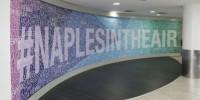 Италия: выставка в аэропорту Неаполя