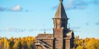 В Карелии сгорела церковь XVIII века