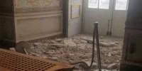 Италия: в комнате Королевского Дворца Казерты обвалился потолок