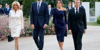 Король и королева Испании посетили выставку Миро