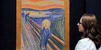 Самая дорогая картина «Крик» Мунка будет выставлена в музее
