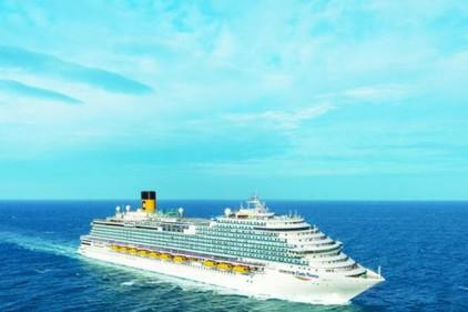 Новый лайнер Costa Firenze отправится в первый круиз