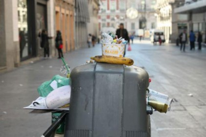 Испания: контейнеры с системой против кражи мусора
