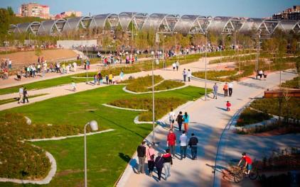 В Мадриде появился новый парк Madrid Río