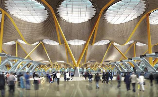Испания: аэропорт Мадрида - одно из лучших архитектурных творений