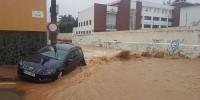 Испания: водяной смерч обрушился на Малагу