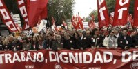 Испанские профсоюзы 1 мая протестовали против реформы труда