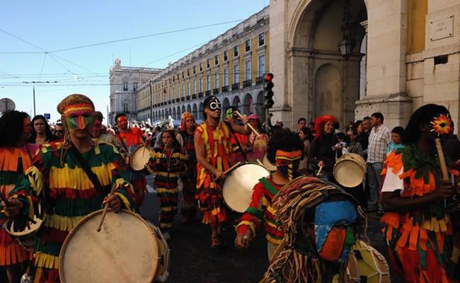 Португалия: Иберийские маски в Лиссабоне