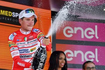 Итальянец Маснада победил на шестом этапе многодневки