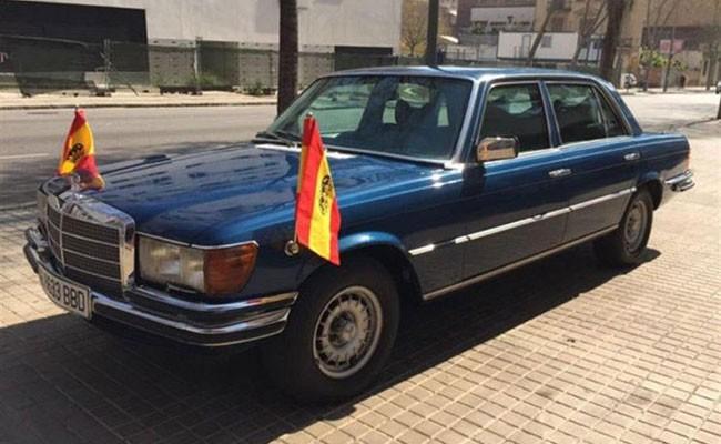 Испания: Mercedes короля Хуана Карлоса ушел с торгов за 39 500 евро