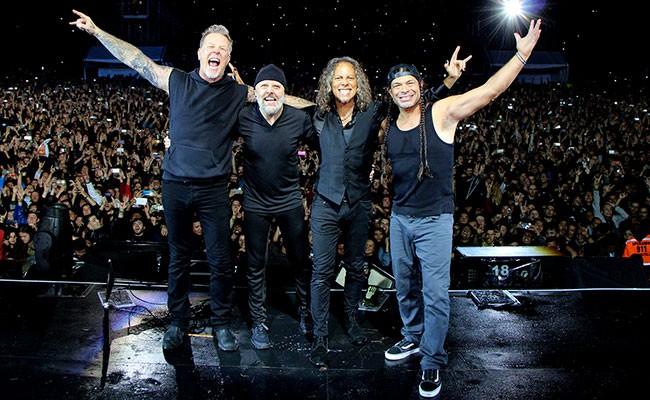 Португалия: концерт группы Metallica