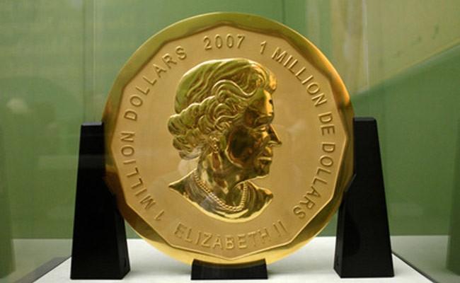 Похитители стокилограммовой золотой монеты предстали перед судом