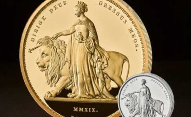 Самую крупную монету из золота создали в Британии