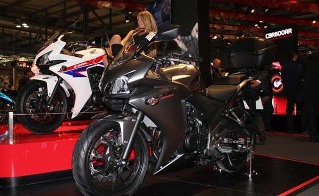 Италия: в Милане прошла выставка мотоциклов