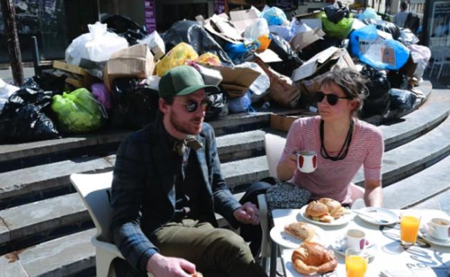 Испания: в Малаге набирает обороты забастовка мусорщиков