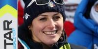 Итальянская горнолыжница вылетела с трассы