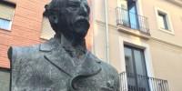 Испания: из центра Барселоны исчез бюст писателя