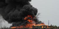 В нигерийском городе Лагос произошел крупный пожар