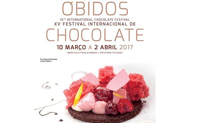 Португалия: начинается Шоколадный Фестиваль в Обидуш!