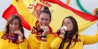 Испанская сборная возвращается из Лондона с 17 медалями