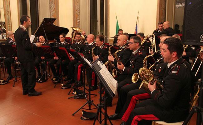 Италия: прошел концерт Оркестра Корпуса карабинеров