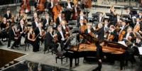 Филармонический оркестр из Санкт-Петербурга в Италии