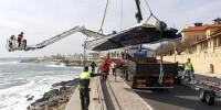 Туристический катер врезался в скалу у берегов Португалии