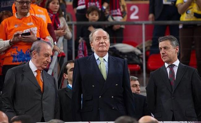 Короля Испании освистали во время баскетбольного матча