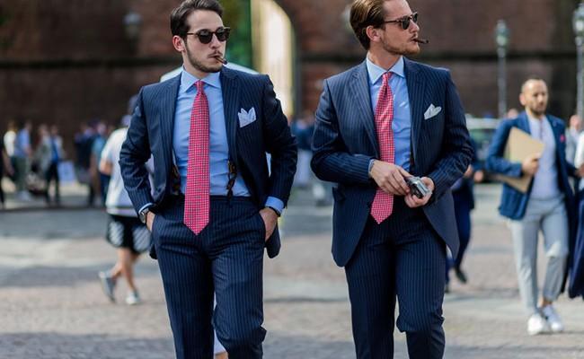 Италия: во Флоренции собрали модных мужчин со всего мира