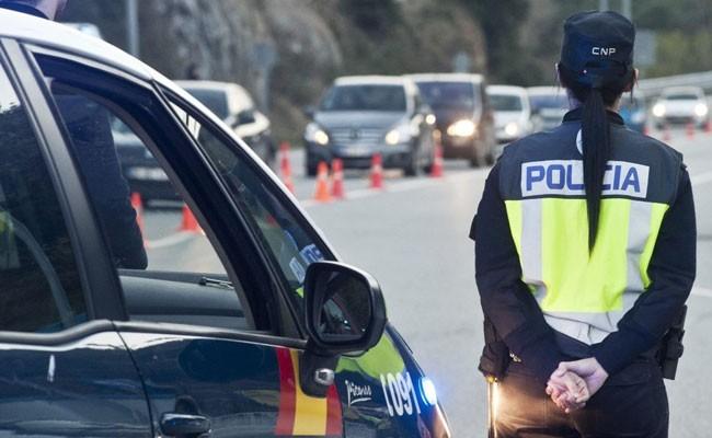 В Испании задержали водителя без прав, под действием наркотиков