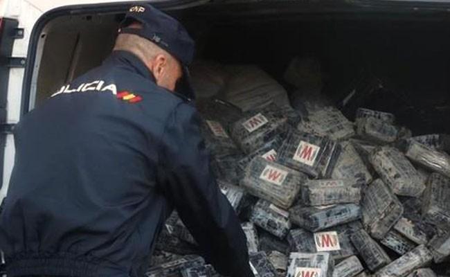 В Испании изъяли более тонны кокаина