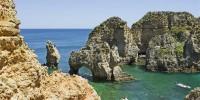 Португалия: алгарвийский пляж - «самый красивый в мире»