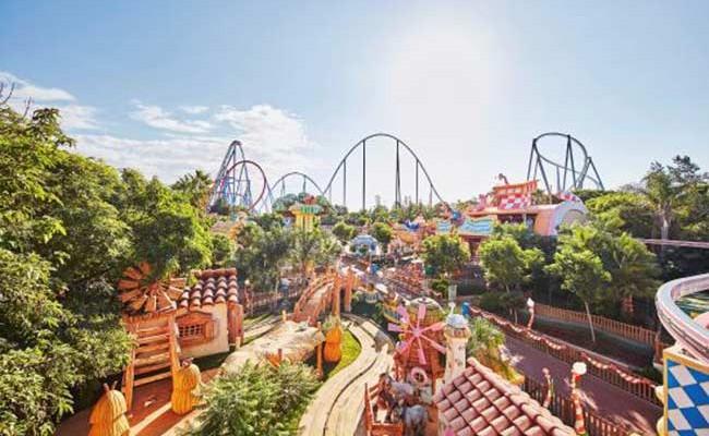 Испанский Port Aventura - лучший парк развлечений