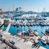 Испания: в порту Барселоны паром столкнулся с круизным лайнером