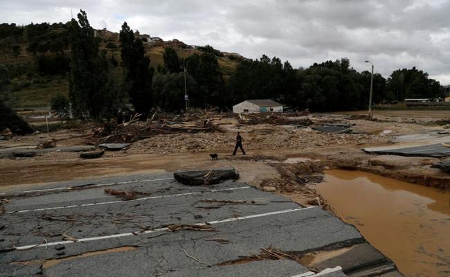 Один человек погиб из-за наводнения на севере Испании