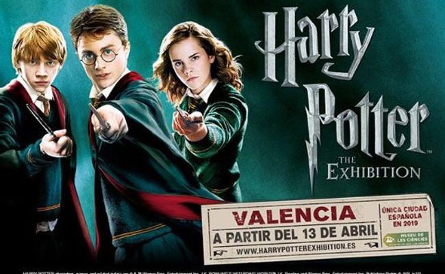 Испания: выставка Harry Potter: The Exhibition